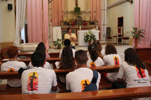 Missione Popolare Giovani, Palermo 2013.