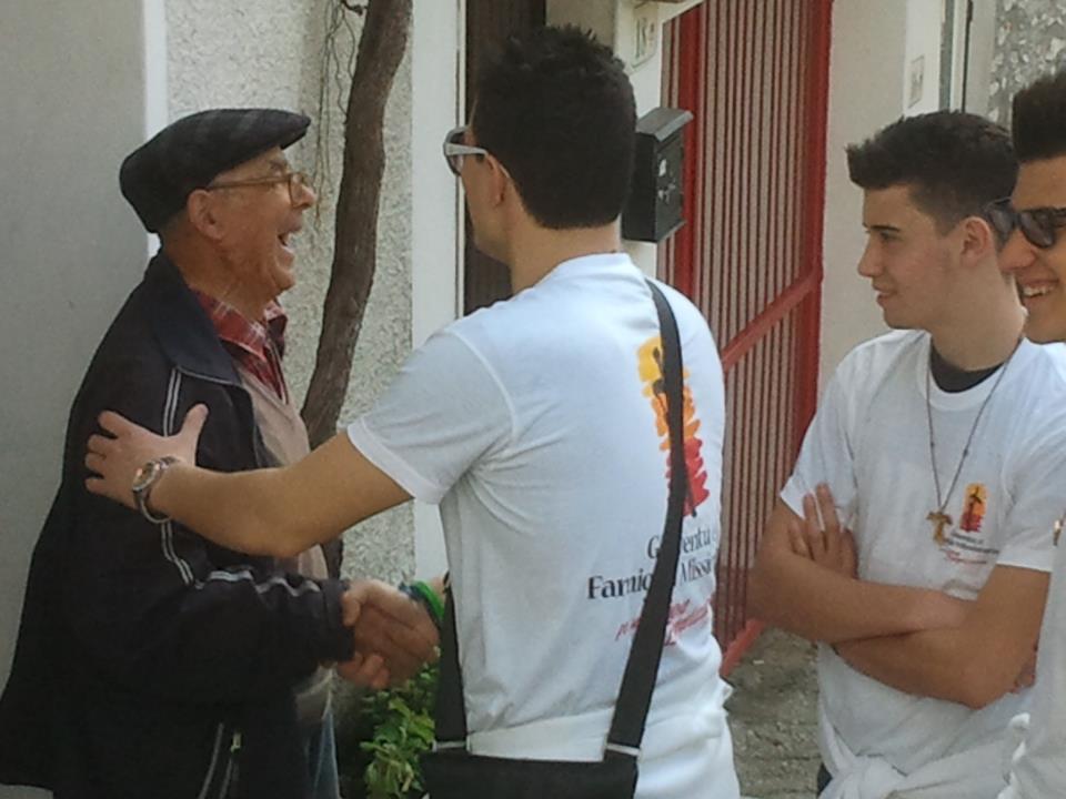 Missioni di Settimana Santa 2012.