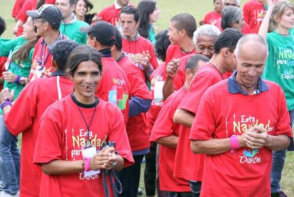 Todos los participantes agradecieron la convivencia fraterna donde no hubo barreras.