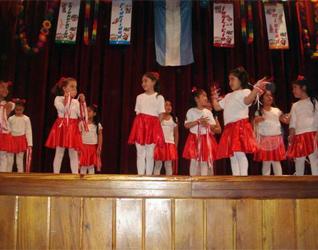 Un festival ameno donde los niños y las niñas son los protagonistas.