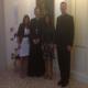 da dx: Patrizia Barattelli, il patriarca di Venezia, Card. Francesco Moraglia, Giada e P. Eamon Kelly, L.C.