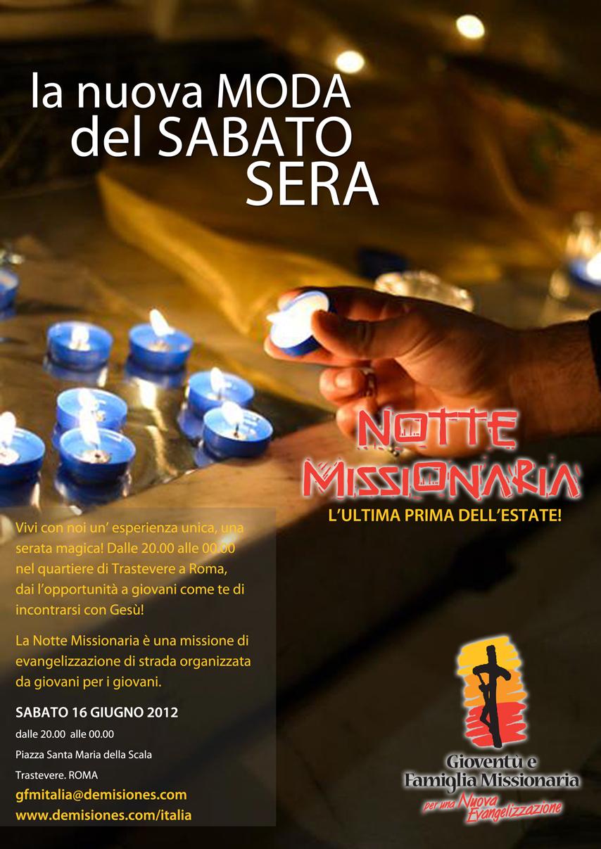 Notte Missionaria