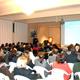 El P. Donal O�Keeffe, L.C., durante su conferencia a miembros del Movimiento en Perú.