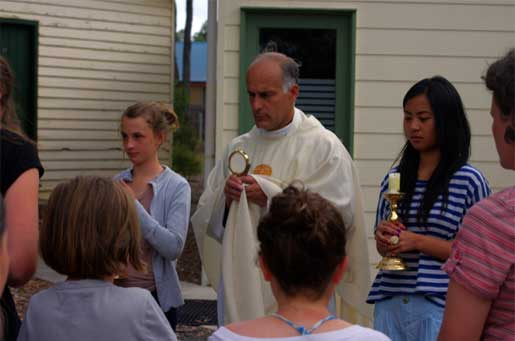 Eucharistic procession in Anglesea