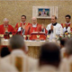 El Card. Tarcisio Bertone, S.D.B., secretario de estado de Su Santidad, presidió una concelebración eucarística durante el congreso.