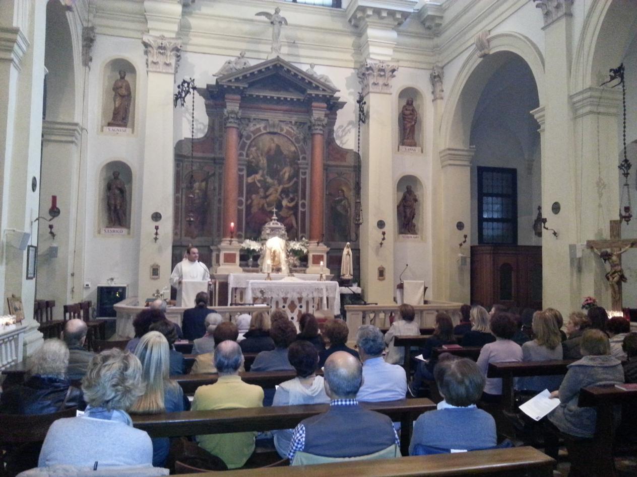 Chiesa di san Canziano, Padova novembre 2013.