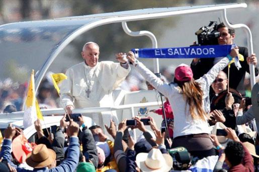 Papa viaggio in Messico 2016