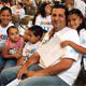 Familias en México se unen por la paz.