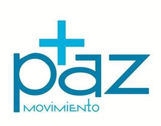 Logotipo de la campaña «+paz Movimiento».