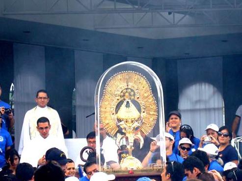 Nuestra Señora de los Ángeles, también llamada de cariño como �La Negrita� por los costarricenses, es festejada especialmente en su santuario cada 2 de agosto.