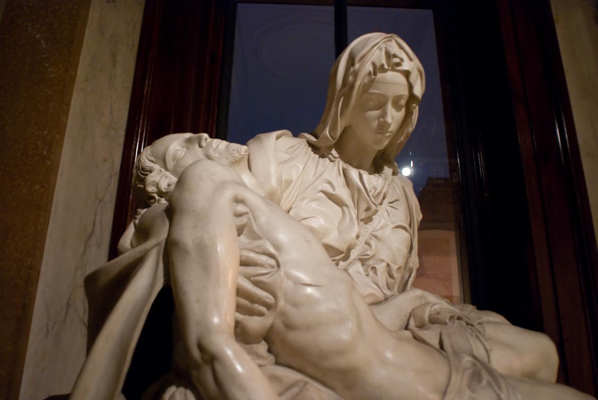 """La """"Pietà"""" (Basilica di San Pietro, Città del Vaticano)"""