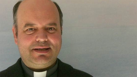 P. Joan Manuel Serra, sacerdote diocesano que participa de la espiritualidad del Regnum Christi.