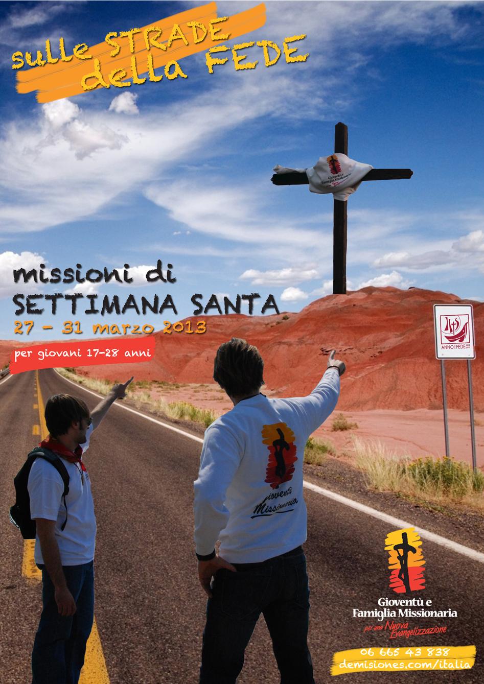 Missioni di Settimana Santa 2013