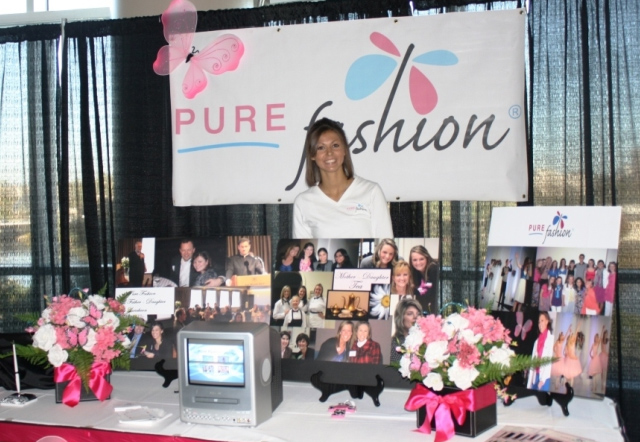 Pure Fashion Booth at Iowa Conference
