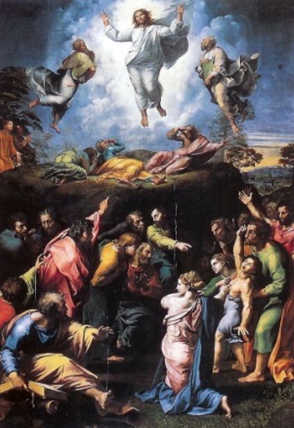 "Raphael's masterpiece ""The Transfiguration"""