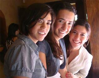 Las primeras colaboradoras del Regnum Christi que llegan a Costa Rica.