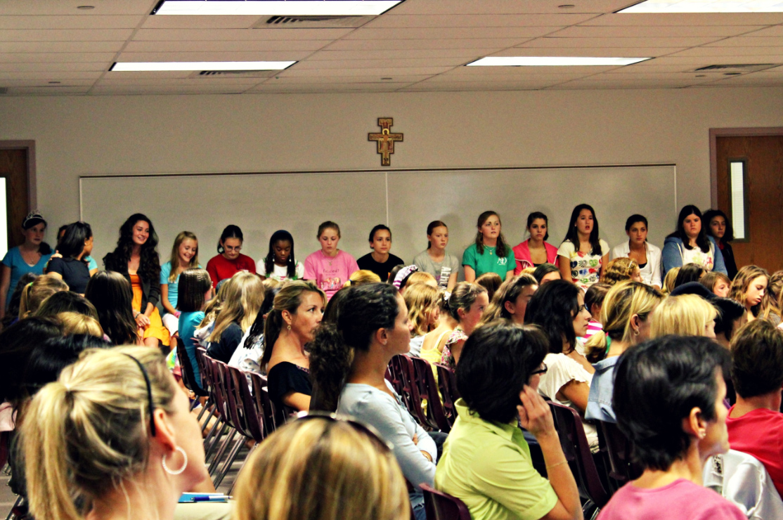 Nearly 100 girls registered for this year�s program.
