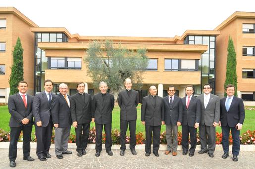 I Rettori delle Università della RUA, Roma ottobre 2013