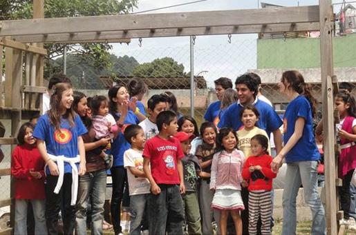 Soñar Despierto organizó una actividad para niños de escasos recursos.