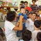 Los 130 voluntarios ofrecieron lo mejor de sí para hacer de este día una experiencia inolvidable para los pequeños.