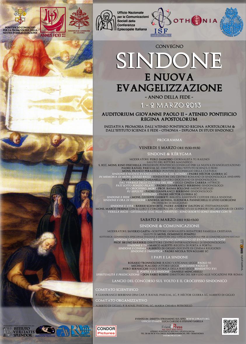 Sindone e Nuova Evangelizzazione.