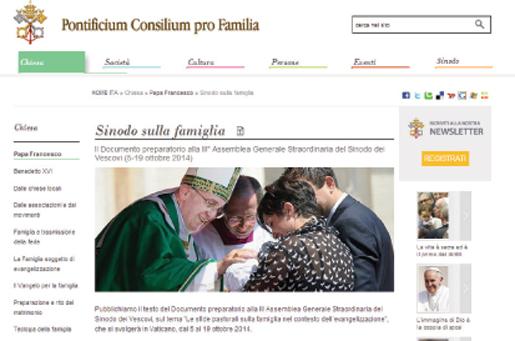 Sinodo Vescovi sulla Famiglia - ottobre 2014