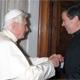 El Papa Benedicto XVI recibió en audiencia privada al P. Álvaro Corcuera, L.C., (Foto: L´Osservatore Romano, 17/06/2010)
