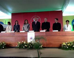 Durante la inauguración estuvieron presentes Ernesto Monroy, subsecretario de educación del Gobierno del Estado de México, el P. Emilio Díaz Torre, L.C., director territorial de Monterrey y otras autoridades educativas.