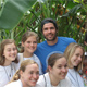 Eduardo Verastegui with his new friends