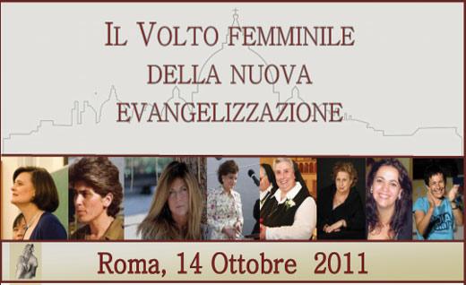 Il volto femminile della nuova evangelizzazione, ISSD, Roma, 2011
