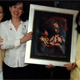Algunas señoras participantes en la convención anual de Virgen Peregrina de la Familia.