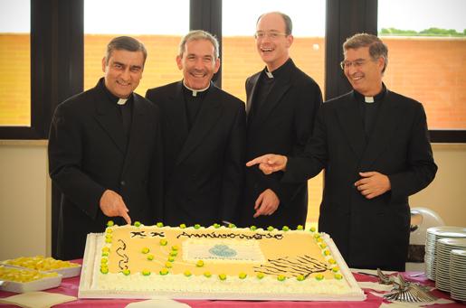 XX anniversario Ateneo Pontificio Regina Apostolorum.