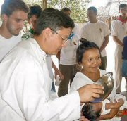 YTM missionary on the 2004 Megamission in Venezuela