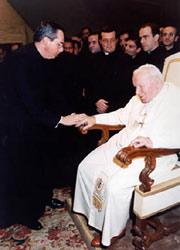 Audiencia de Neosacerdotes con el Santo Padre