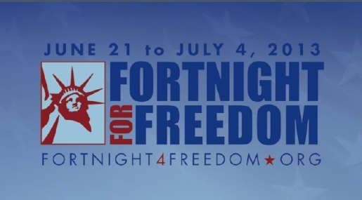 Logo For Fortnight for Freedom
