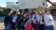 Joanne Lou, front, on pilgrimage with the RC consecrated women to Our Lady of Tears in Civitavecchia near Rome.
