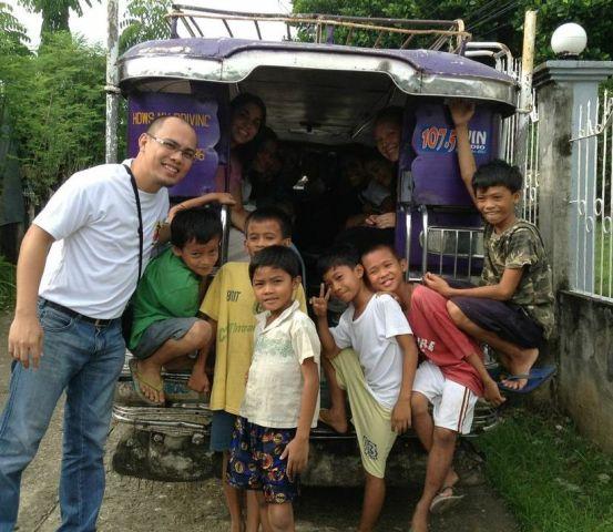 The crew in Cebu