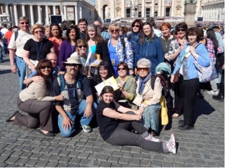 RC Atlanta pilgrims to Rome