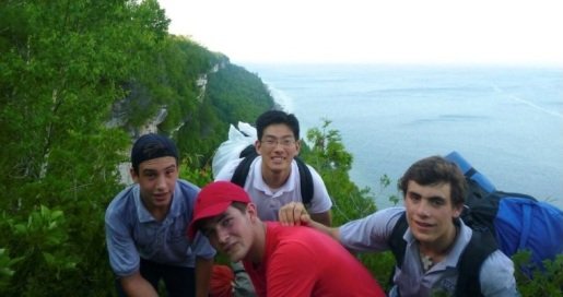 Backpacking at Lion�s Head by Georgian Bay.