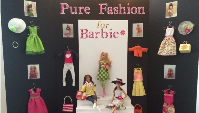 Barbie Pure Fashion Display