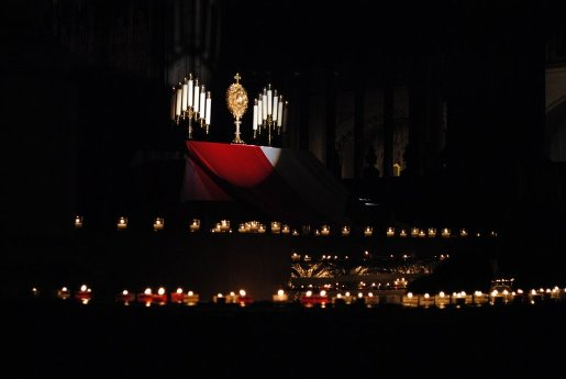Adoration at St. Patricks Cathedral NY
