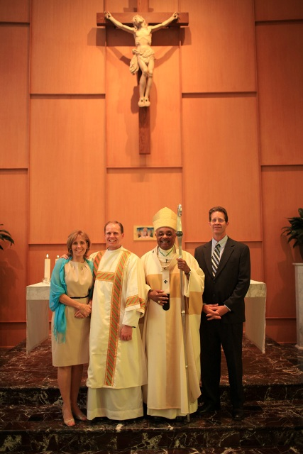 Brother Ronald Conklin and Parents