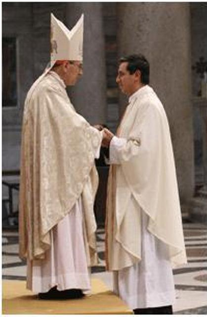 Cardinal and Fr. Alvaro