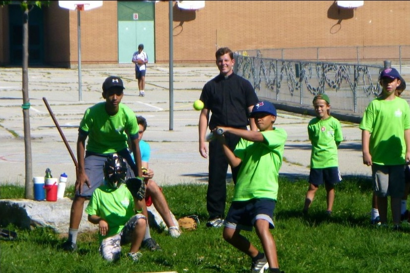 Catholic Sports Day Camp activities