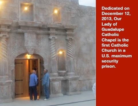 The chapel at Angola Prison