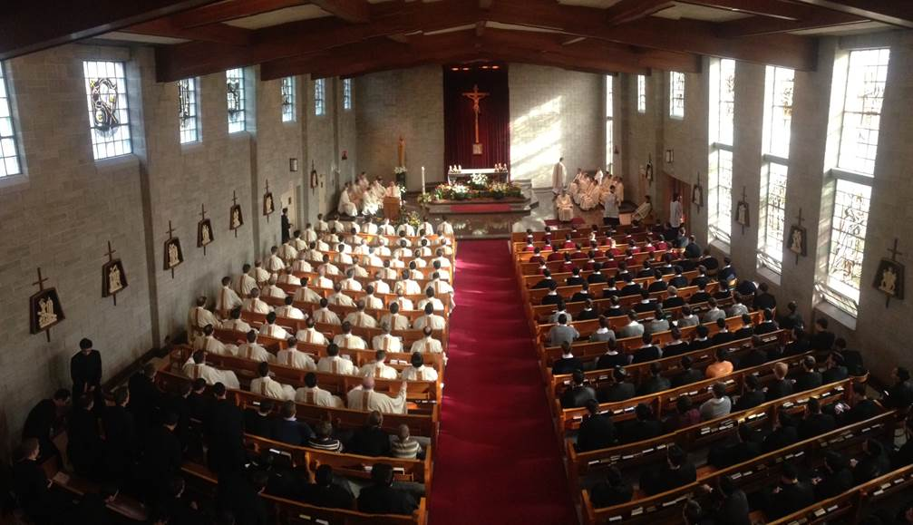Legion of Christ Mass at Cheshire, Connecticut