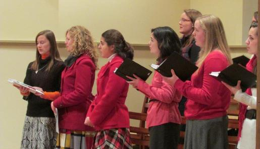 MEC Choir at Eucharistic Congress