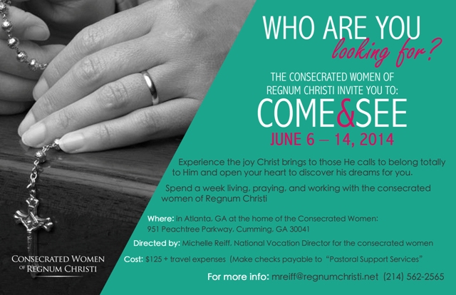 Consecrated event Come and See