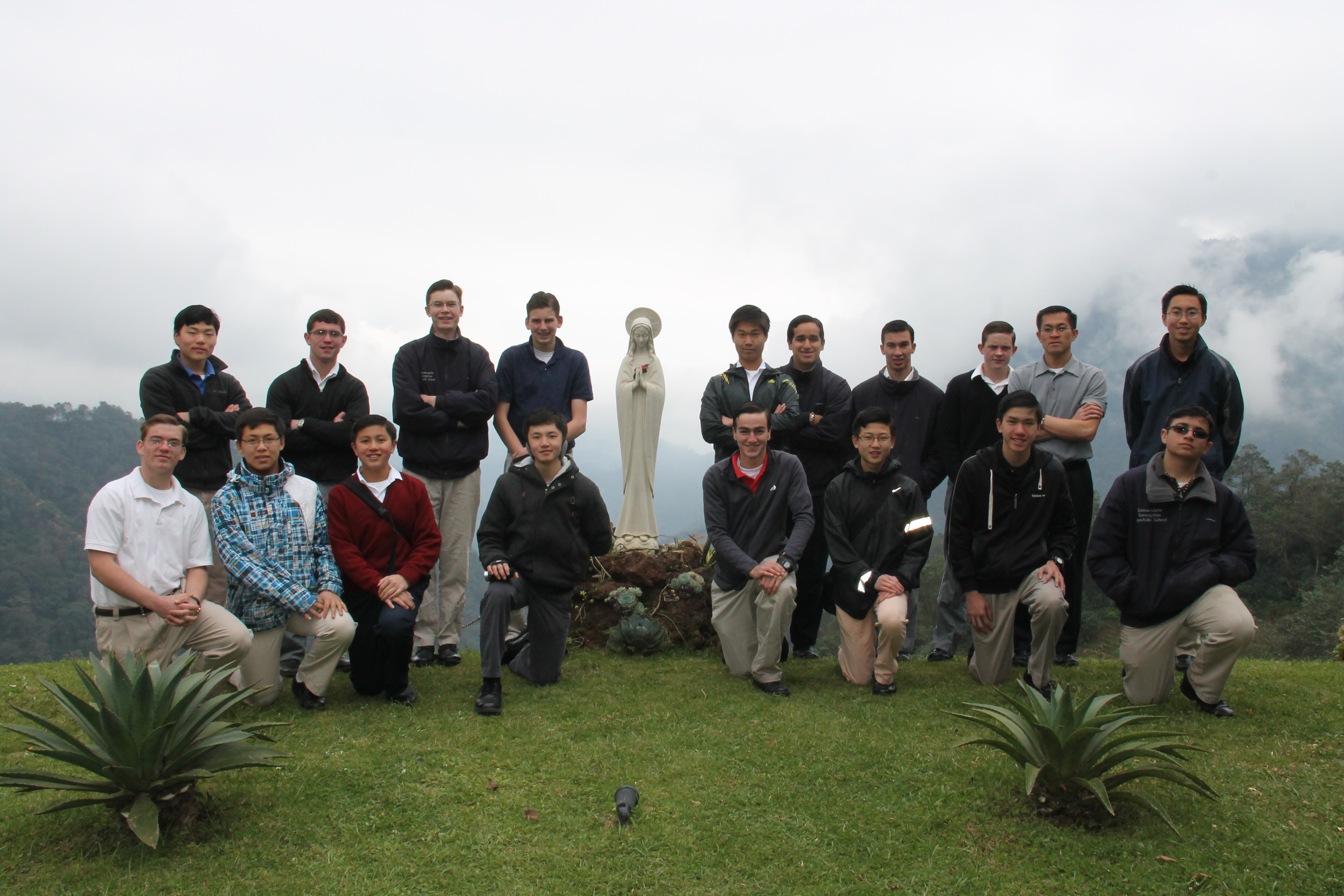 IC Apostolic School Missionaries to Mexico