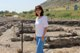 Corinne Miller on site at the Magdala Project